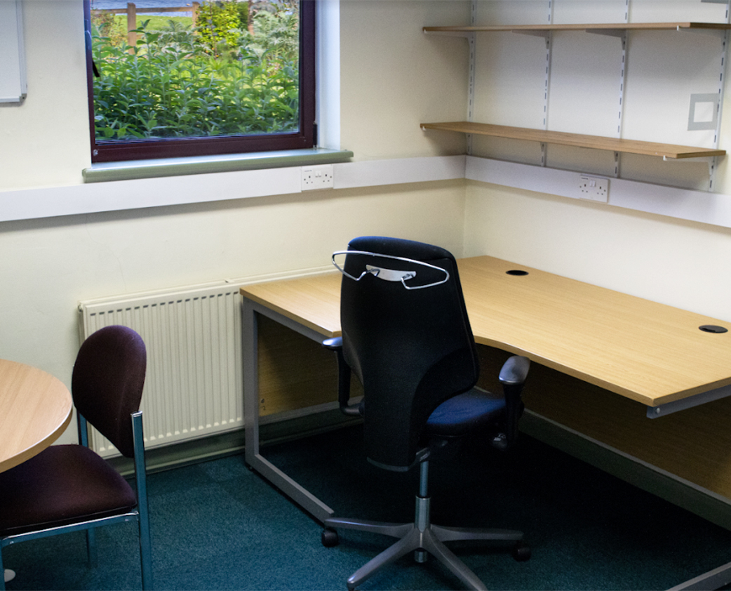 office space at Brixham Laboratory